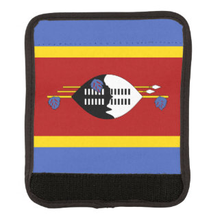 Swaziland Flag Luggage Handle Wrap