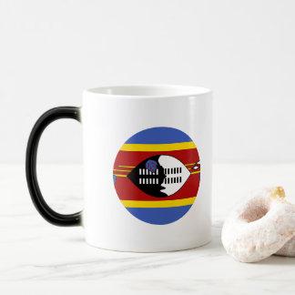 Swaziland Flag Magic Mug