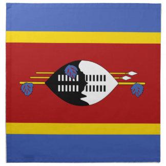 Swaziland Flag Napkin