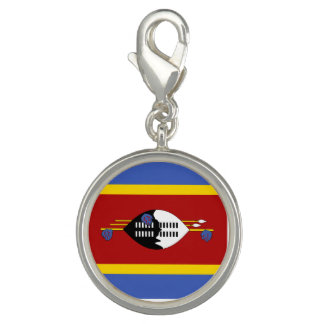 Swaziland Flag Photo Charms