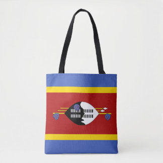 Swaziland Flag Tote Bag