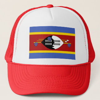 Swaziland Flag Trucker Hat