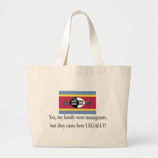 Swaziland Jumbo Tote Bag