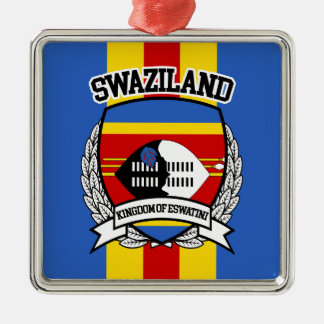 Swaziland Metal Ornament