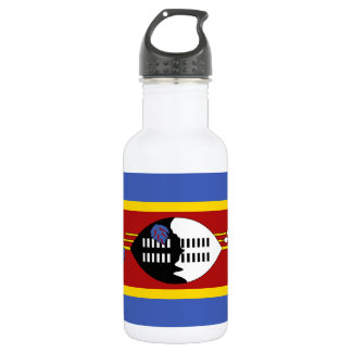 Swaziland National World Flag 532 Ml Water Bottle