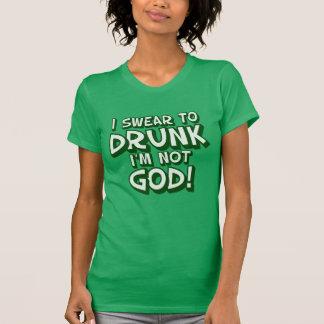 Swear To Drunk Funny Irish T-Shirt