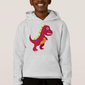 Sweat A Hood Boy Dinosaur