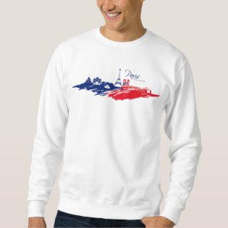 Sweat A Hood White Man BASIC Paris Sweatshirt