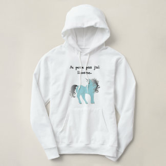Sweat has hood for woman unicorn hoodie