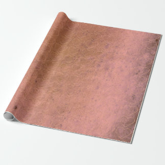 Sweat Heart Blush Pink Rose Gold Grungy Lilac Wrapping Paper