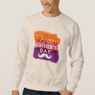 Sweat Homme White BASIC Father's Day Sweatshirt