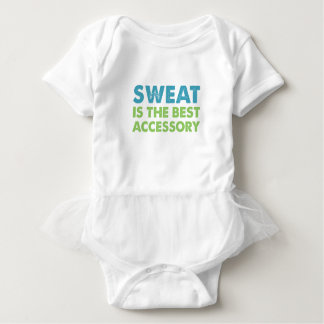Sweat is the Best Accessory Baby Bodysuit