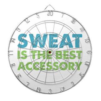 Sweat is the Best Accessory Dartboard