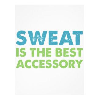 Sweat is the Best Accessory Letterhead