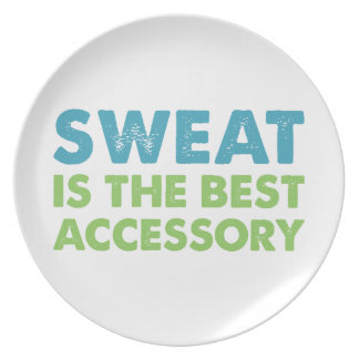 Sweat is the Best Accessory Plate