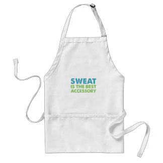 Sweat is the Best Accessory Standard Apron