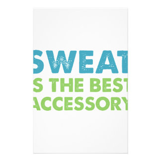 Sweat is the Best Accessory Stationery