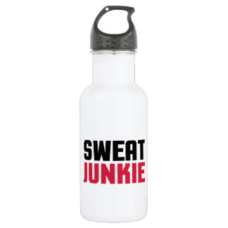 Sweat Junkie Gym Quote 532 Ml Water Bottle