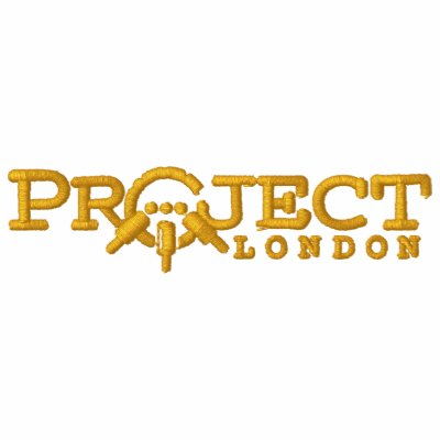 Sweat - shirt à capuche de Londres de projet (fil  Sweat-shirt À Broderie