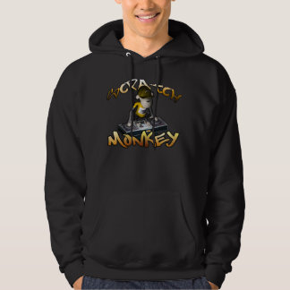 Sweat - shirt à capuche de singe d'éraflure