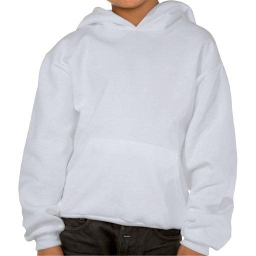 Sweat - shirt à capuche d'enfants de tambours roug sweatshirts à capuche