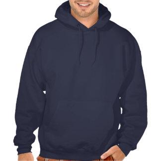 Sweat - shirt à capuche drôle du cor de harmonie d sweatshirts avec capuche