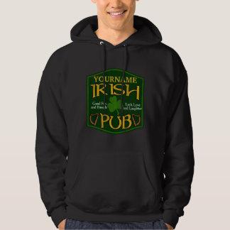Sweat - shirt à capuche irlandais personnalisé de sweatshirts avec capuche