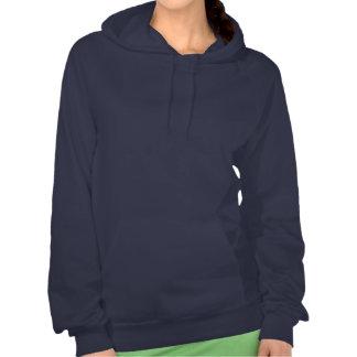 Sweat - shirt à capuche pittoresque de dames de ch pull avec capuche