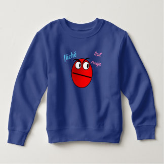 """sweat shirt """"angry any red """""""