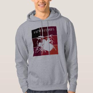 Sweat-shirt drummer veste à capuche