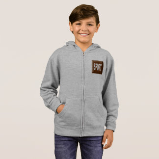 SWEAT SPORT CHOCOLATE HOODIE