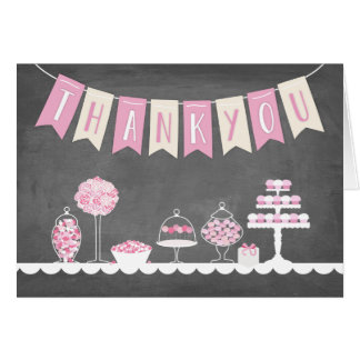 Sweat Treats Thank You Card