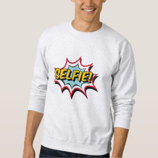 Sweat White Man BASIC Comics Sweatshirt