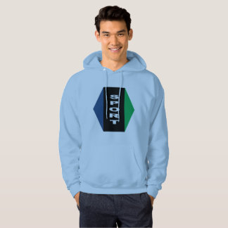 Sweat with basic hood blue sky Ottawa sport Hoodie
