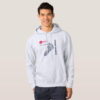 Sweat with basic hood for man hoodie