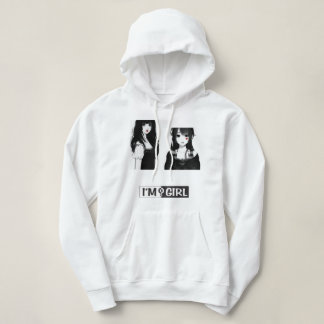 Sweat with basic hood for woman hoodie