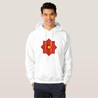 Sweat with basic hood hoodie