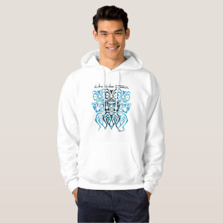 Sweat with hood man tiki hoodie