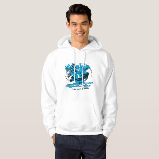 Sweat with hood plunger man shark hoodie