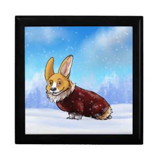 sweater corgi 2 gift box