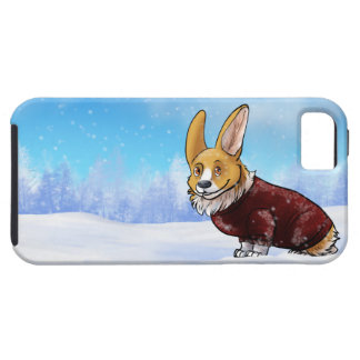 sweater corgi 2 iPhone 5 case