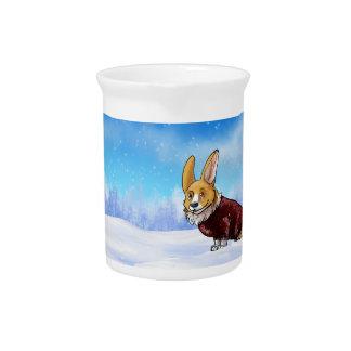 sweater corgi 2 pitcher