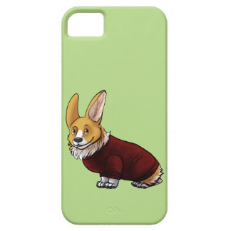 sweater corgi iPhone 5 cover