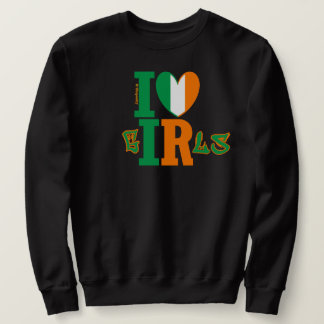 Sweater for a Sweetie - I ❤ Irish Girls