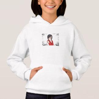 sweater hood girl