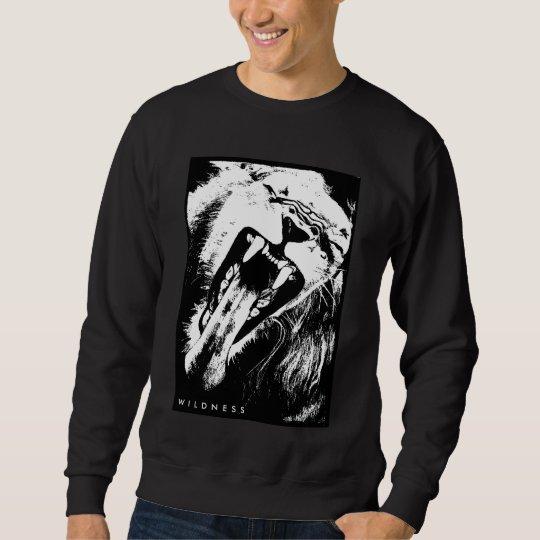 Sweater shirt wild lion