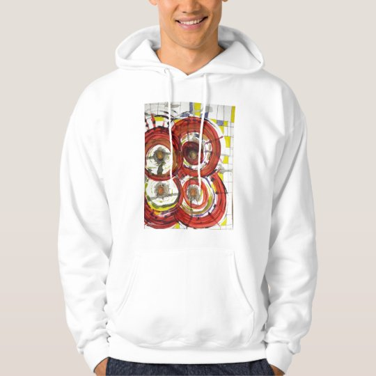 sweater shirt with abstract design