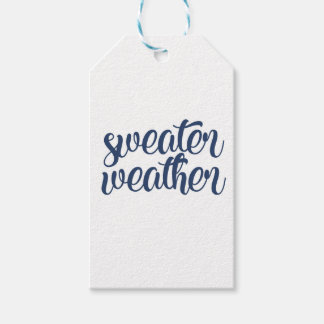 Sweater Weather Gift Tags