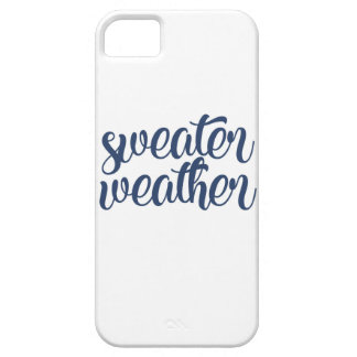 Sweater Weather iPhone 5 Cover