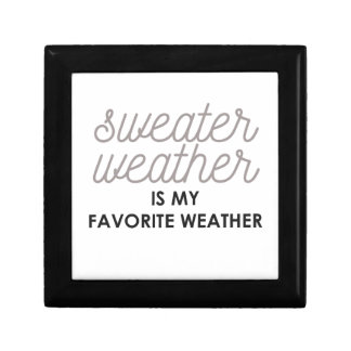 Sweater Weather is my Favorite Weather Gift Box
